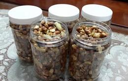 Kiểm soát chặt chẽ chất lượng đậu phộng rang tỏi