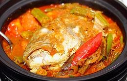 Thơm ngon cà ri đầu cá Singapore