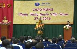 Đồng chí Võ Văn Thưởng thăm bệnh viện K