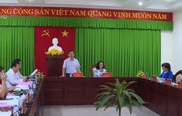 Đồng chí Trương Thị Mai làm việc tại Sóc Trăng