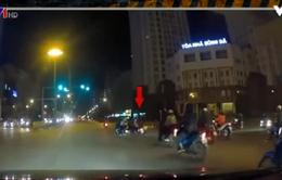 Vượt đèn đỏ - Một trong những nguyên nhân gây tai nạn