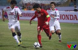 Vượt Tuấn Anh, Công Phượng trở thành Cầu thủ trẻ xuất sắc nhất 2015