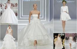 Mê mẩn những mẫu váy cưới bồng bềnh, quyến rũ, phá cách cho mùa cưới 2016