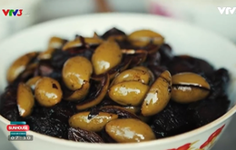 Thịt kho trám chua: Đặc sản vùng Cẩm Khê, Phú Thọ