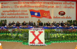Khai mạc Đại hội Đảng Nhân dân Cách mạng Lào lần thứ X