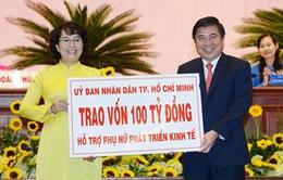 TP.HCM dành 100 tỷ đồng hỗ trợ phụ nữ phát triển kinh tế