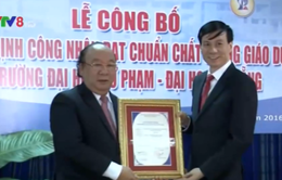 Trường Đại học sư phạm Đà Nẵng đạt chuẩn chất lượng giáo dục