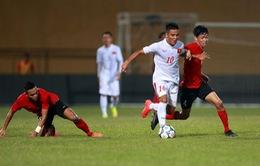 VIDEO U19 Việt Nam 0-0 U19 Singapore: Vô duyên đến ngỡ ngàng