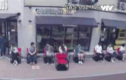 Độc đáo dịch vụ ghế di động tại Nhật Bản
