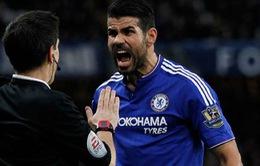 HLV Chelsea nổi khùng vì Costa dính án phạt nặng từ FA