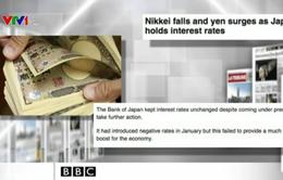 Nhật Bản gây sốc vì không tăng kích thích kinh tế