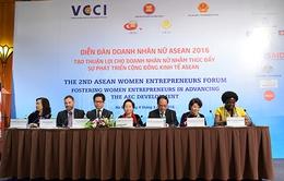 Doanh nhân nữ ASEAN 2016: Diễn đàn trao đổi các vấn đề hội nhập