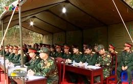 Chuẩn bị diễn tập kết hợp giữa Hành động mìn nhân đạo và Gìn giữ hòa bình