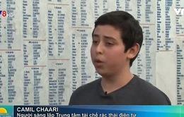 Cậu bé 14 tuổi làm chủ trung tâm tái chế rác thải