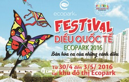 Festival diều Quốc tế Ecopark 2016