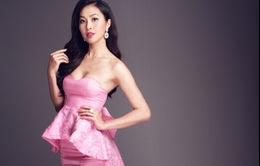 Diệu Ngọc tự tin giới thiệu về quê hương ở Hoa hậu Thế giới