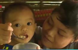 Trẻ em suy dinh dưỡng gia tăng ở vùng nắng hạn
