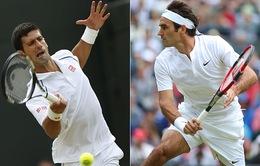 Bốc thăm Wimbledon 2016: Djokovic sẽ đụng độ Federer ở bán kết?