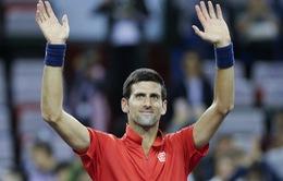 Thượng Hải Masters 2016: Thắng dễ Fognini, Djokovic thẳng tiến vào vòng 3