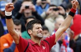 Djokovic chạm trán Murray ở chung kết Pháp mở rộng