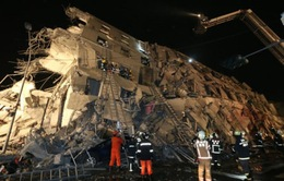 Số người thiệt mạng trong trận động đất tại Đài Loan (Trung Quốc) tăng lên 18 người
