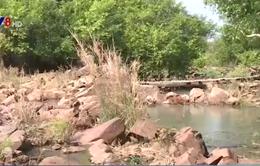 Sông Sêrêpốk cạn trơ đáy, du lịch Đăk Lăk gặp khó