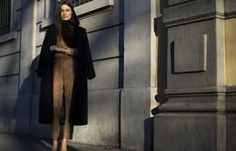 Mùa Đông ấm áp và thời thượng với áo khoác dáng dài