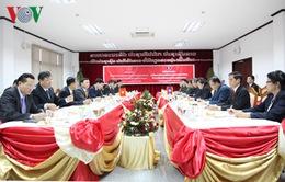 Đoàn đại biểu cấp cao Ban Tuyên giáo TW thăm và làm việc tại Lào