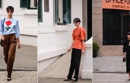 Đỗ Hà Next Top Model sành điệu trên đường phố Hà Nội