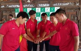 Davis Cup 2016: ĐT quần vợt Việt Nam được treo thưởng 10.000 USD