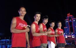 Sasuke Việt Nam: Đội Việt Nam tạm dẫn đầu trong cuộc so tài đẳng cấp thế giới