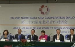 6 nước tham gia Đối thoại hợp tác Đông Bắc Á 2016