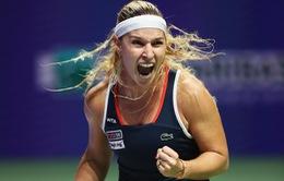 WTA Finals: Cibulkova bất ngờ lọt vào bán kết