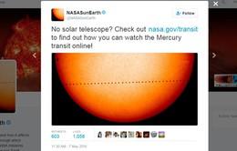 Hiện tượng thiên văn hiếm thấy: Sao Thủy đi qua giữa Trái Đất và Mặt Trời