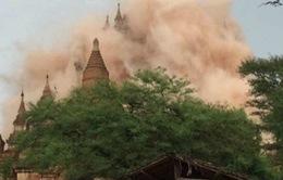Động đất tại Myanmar: Các tòa nhà rung chuyển, 60 ngôi chùa bị phá hủy