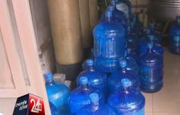 Tạm đình chỉ hoạt động cơ sở sản xuất nước uống đóng chai Trung Anh