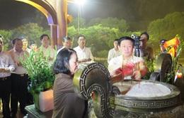 Đồng chí Trương Thị Mai làm việc tại Quảng Trị