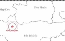 Động đất 3,2 độ richter tại khu vực thủy điện Sông Tranh, Quảng Nam
