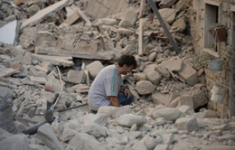 Sau động đất, hơn 3.000 người Italy sống không nhà cửa
