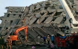Giải cứu 247 người mắc kẹt sau động đất tại Đài Loan