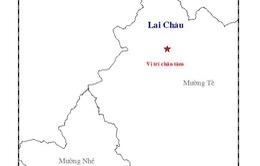 Động đất 3,3 độ richter tại Lai Châu