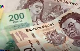 Đồng Peso Mexico rớt giá mạnh