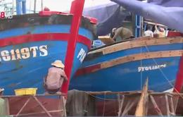 Khu sửa chữa tàu thuyền Phú Yên đối diện nguy cơ xóa sổ