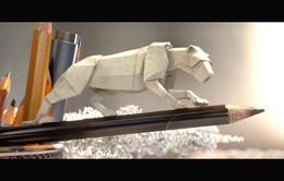 Thế giới động vật bằng giấy sinh động của National Geographic