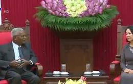 Đồng chí Trương Thị Mai tiếp Đoàn đại biểu Đảng Cộng sản Ấn Độ