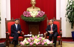 Đồng chí Nguyễn Văn Bình tiếp Chủ tịch ADB