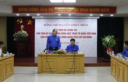 Đồng chí Nguyễn Thiện Nhân làm việc với Trung ương Đoàn TNCS Hồ Chí Minh