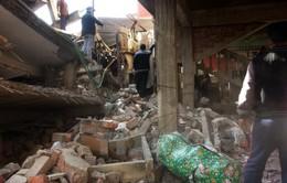 Thương vong do động đất tại Ân Độ tăng cao