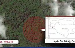 Liên tiếp xảy ra động đất tại Bắc Trà My, Quảng Nam