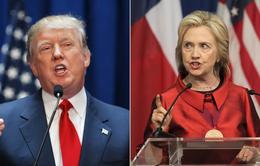 """""""Cửa"""" thắng cho Trump, Clinton tại các bang """"chiến địa"""""""